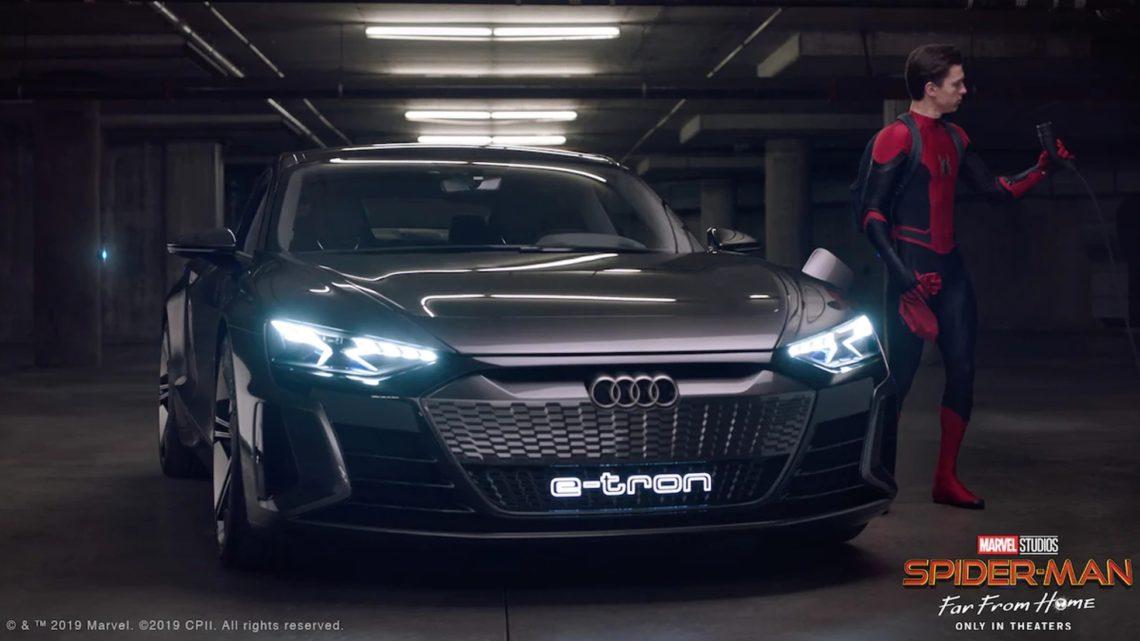Elektrizující superhrdina: Proč Spider-Man řídí Audi e-tron GT concept